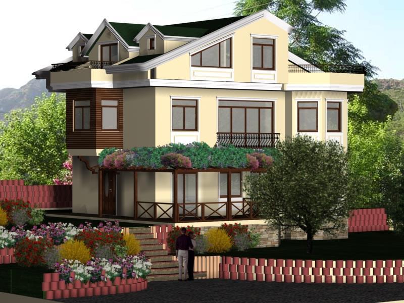 Dereköy'de 2.000 M2 Arsa İçinde Natamam Satılık Villa