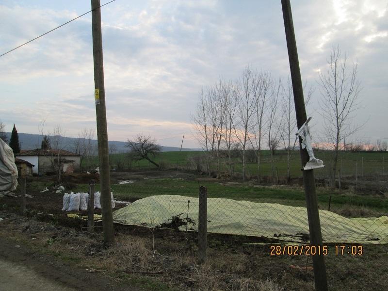 Tekirdağ Satılık Arsa Mahramlı köyü (Mah) İçinde Tapu Kaydı Bahçeli Kerpiç Ev Olan 1859m2 İmarlı Satılık Arsa