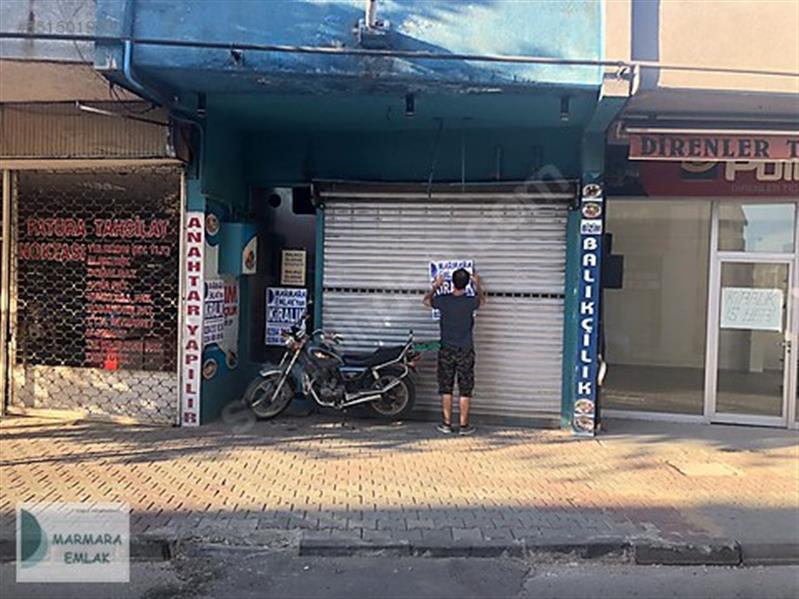 MARMARADAN Ayşekadın da Kiralık Dükkan