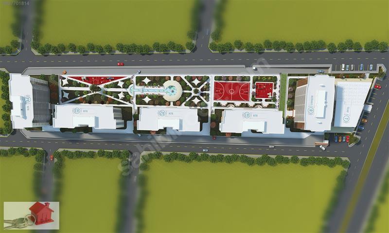 GATE OF ANATOLİA'DA RESİDANCE 2+1 127 M2 مجمع (غيت اوف اناضوليا)