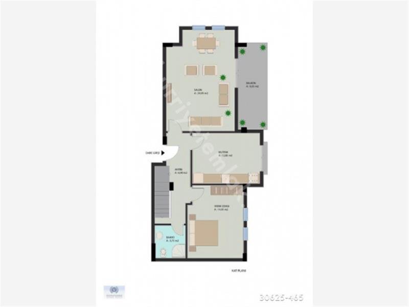 Köyceğiz Gülpınar da Satılık Sıfır 3+1 Çatı Dubleksi