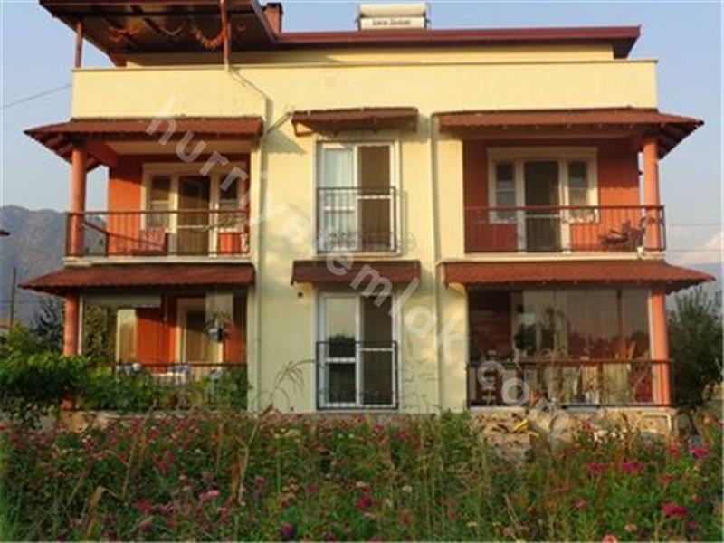 Köyceğiz Toparlar Satılık Ful Eşyalı Tribleks Villa