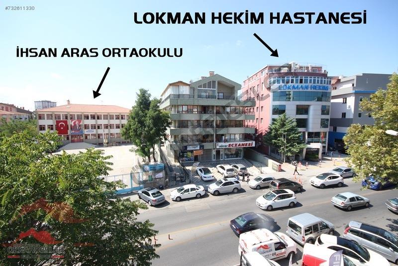 LOKMAN HEKİM KARŞISI CADDE ÜZERİ 3+1+KİLERLİ MEGALÜKS YAPILI ..!