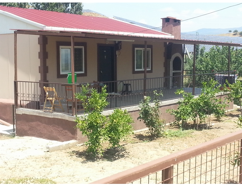 Aydın Çine Yörükler Köyünde Satılık 5267 M2 Bahçe İçinde Satılık Ev