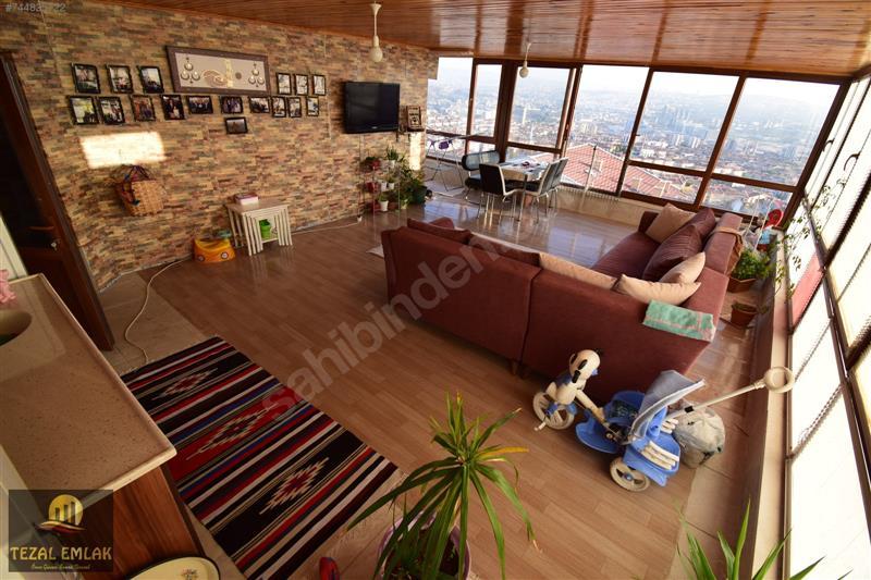 TEZAL;dan Bölgenin En Fırsat Dubleksi 6+1/300 m2 Kapalı Teraslı