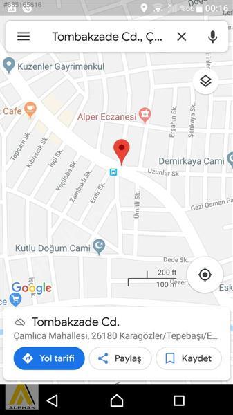 KOMISYON YOKTUR KENDI YERIMIZ ÇAMLICA TOMBAKZADE CADESİ 200 METR