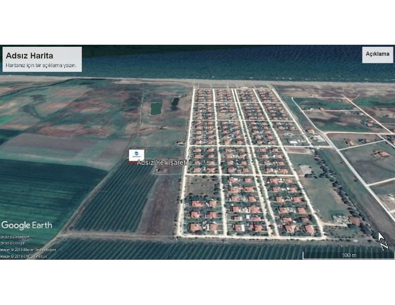 Çanakkale İli Biga İlçesi Bozlar Köyü Hudutlarında Satılık Yazlık Arsa