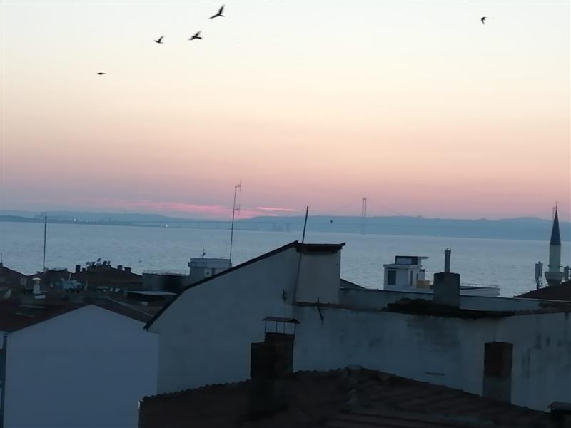 Kardeş Emlak'tan Şehir Merkezinde Deniz Manzaralı Çatı Dubleksi