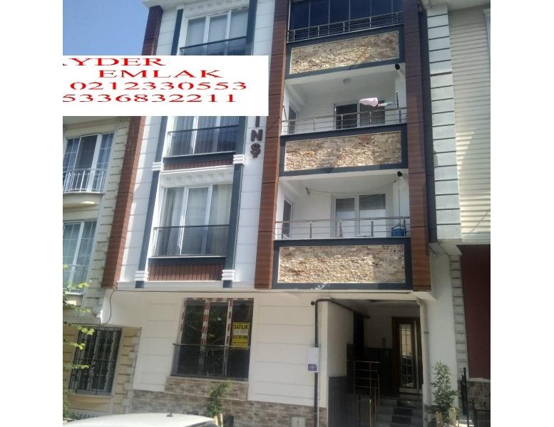 İstanbul küçükçekmece inönü mah de satılık 70m² 1+1 sıfır yüksek giriş kat daire