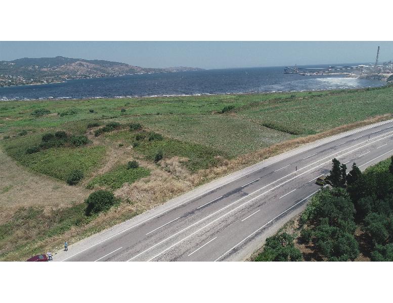 Erdek Aşağıyapıcı'da Deniz Manzaralı Tarla Vasıflı Arazi