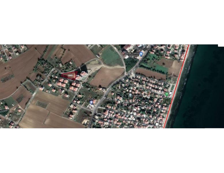 Tekirdağ Süleymanpaşa Barbaros Mahallesinin Tek 9 Kat İmarlı Arsası 2251.95M2