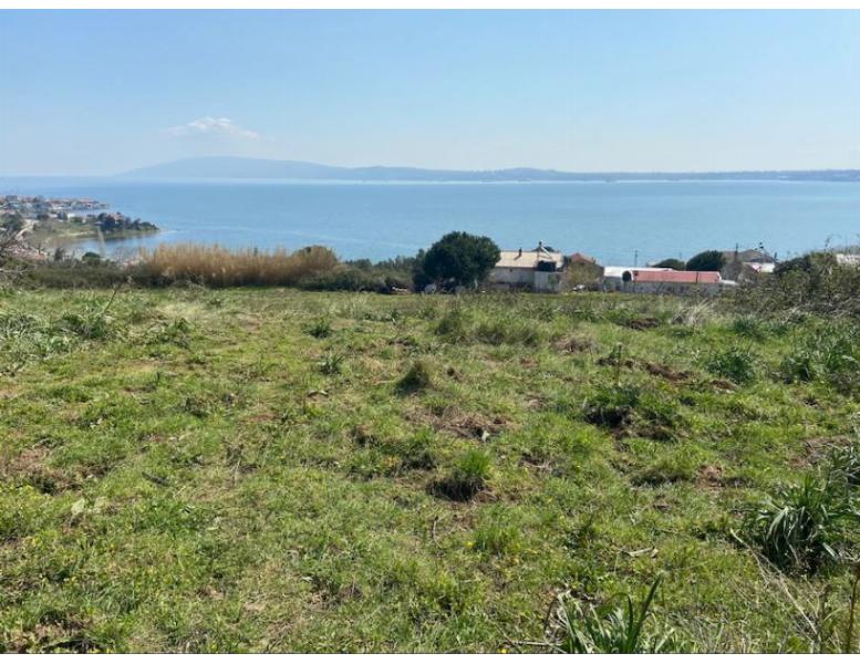 Erdek Hamamlı Köyünde 194M2 Deniz Manzaralı Satılık Tarla