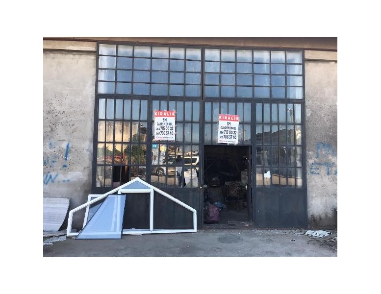 Bandırma Küçük Sanayi Sitesinde 120M2 Kiralık Dükkan